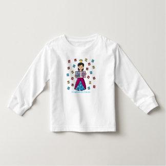 Scrapbooking Princess Toddler T-shirt