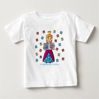 Scrapbooking Princess Infant T-shirt
