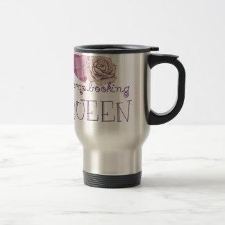 Scrapbooking Queen Travel Mug