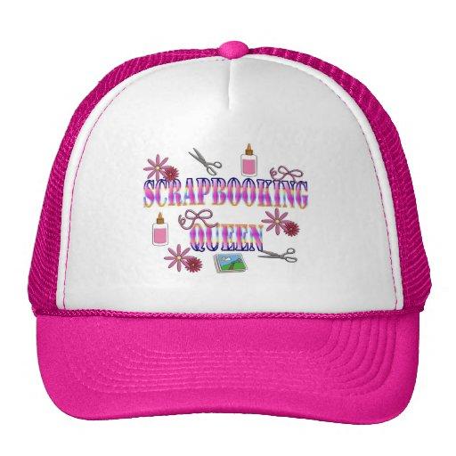 Scrapbooking Queen Trucker Hat
