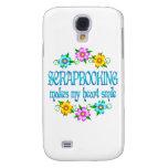 Scrapbooking Smiles Galaxy S4 Cases
