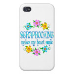Scrapbooking Smiles iPhone 4/4S Cover