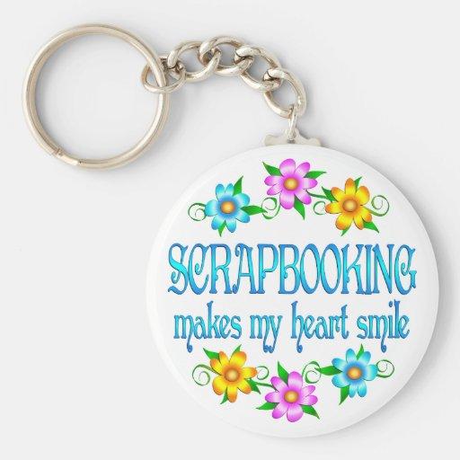 Scrapbooking Smiles Keychain