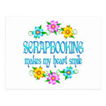Scrapbooking Smiles Postcard