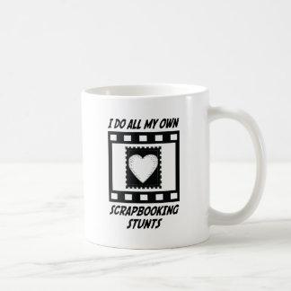 Scrapbooking Stunts Coffee Mug