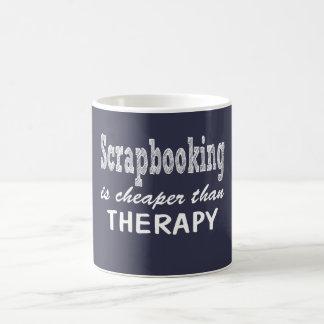 Scrapbooking Therapy Coffee Mug