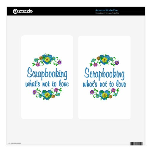 Scrapbooking to Love Decals For Kindle Fire