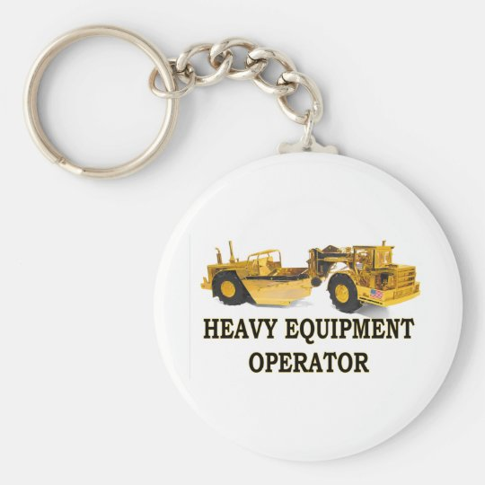 SCRAPER EARTH MOVER KEYCHAIN
