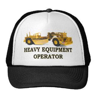 SCRAPER EARTH MOVER TRUCKER HAT