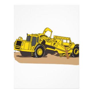 Scraper Truck Letterhead