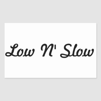 Scrapeworks Low N' Slow Sticker