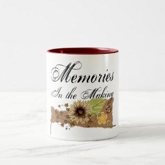 Scrapper - Memory Maker Two-Tone Coffee Mug