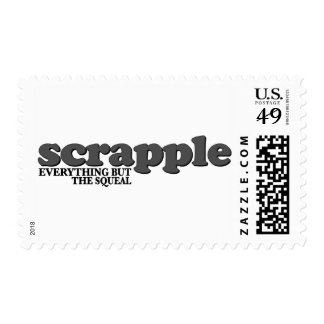 Scrapple Squeal Postage