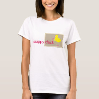 Scrappy Chick Scrapbooking T-Shirt