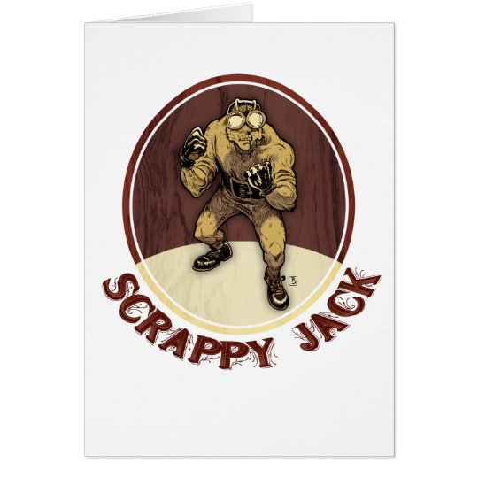 Scrappy Jack / Stay Funky Card