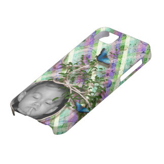 Scrappy Spring Photo Frame iPhone 5 Case