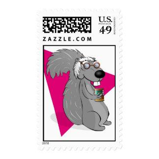 Scrappy Squirrel Postage