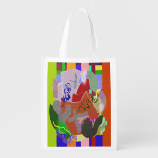 Scraps and Threads Grocery Bags