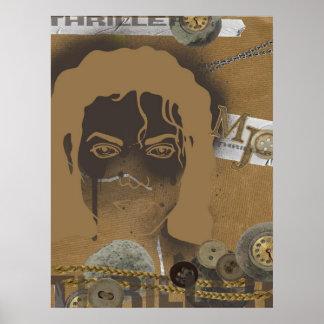 Scrapsign Mikel Jackson Poster