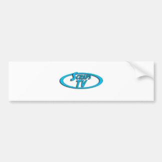 ScrapsTV Logo Car Bumper Sticker