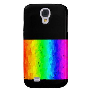 Scrapy Rainbow Samsung Galaxy S4 Case