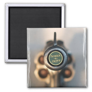 Scratch and Sniff 2 Inch Square Magnet