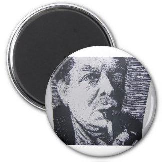 Scratch Art 2 Inch Round Magnet