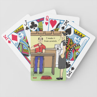 """""""Scratch"""" Bicycle Playing Cards"""