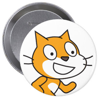 Scratch Cat Button