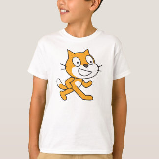 Scratch Cat Shirt (Kids)