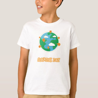 Scratch Day Globe Shirt (Kids)