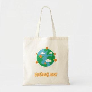 Scratch Day Tote Bag