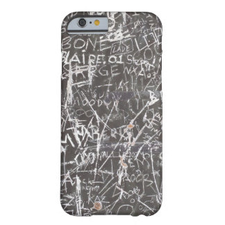 scratch graffiti barely there iPhone 6 case
