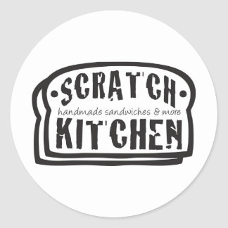 scratch_logo.jpg classic round sticker