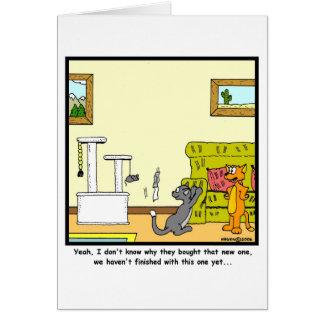 Scratch-post Card