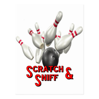 Scratch & Sniff Postcard