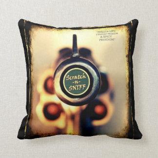 Scratch & Sniff... Throw Pillow