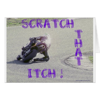 Scratch That Itch Greeting Card