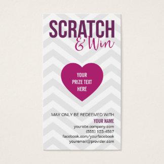 Scratch & Win Business Cards