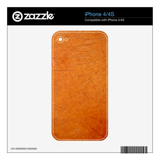 Scratched 2 iPhone 4 skins