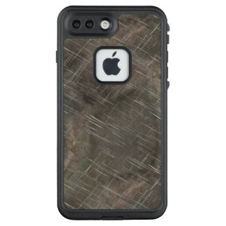 Scratched and Abused Silver Metal LifeProof FRĒ iPhone 7 Plus Case