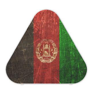 Scratched and Worn Vintage Afghan Flag Speaker