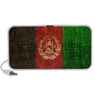 Scratched and Worn Vintage Afghan Flag Speaker System