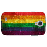 Scratched and Worn Vintage Gay Pride Rainbow Flag
