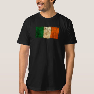 Scratched and Worn Vintage Irish Flag T-Shirt