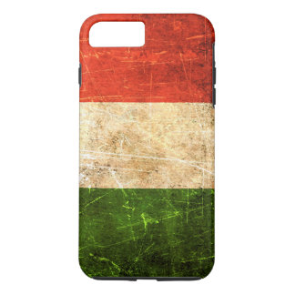 Scratched and Worn Vintage Italian Flag iPhone 7 Plus Case