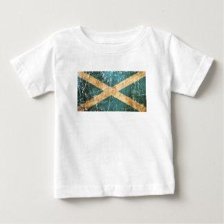 Scratched and Worn Vintage Scottish Flag Infant T-shirt