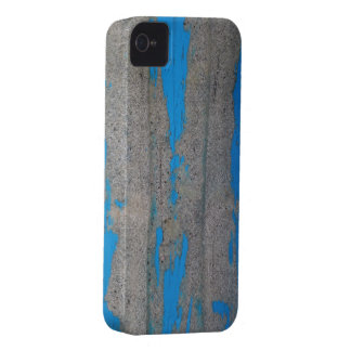 Scratched Blue iPhone 4 Cover