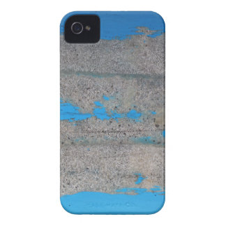 Scratched blue iPhone 4 cases