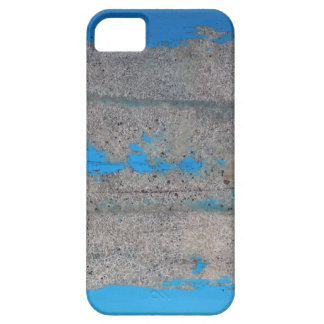 Scratched blue iPhone 5 cases